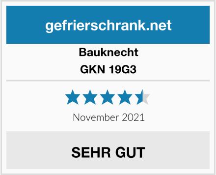 Bauknecht GKN 19G3 Test