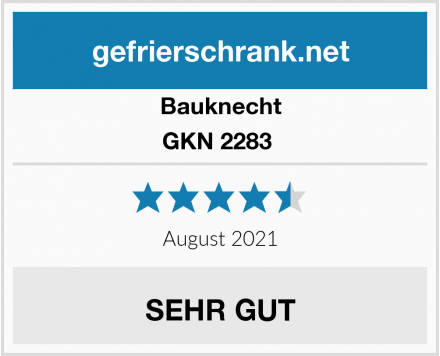 Bauknecht GKN 2283  Test