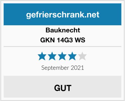 Bauknecht GKN 14G3 WS  Test