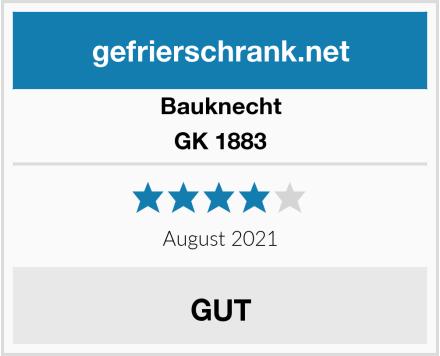 Bauknecht GK 1883 Test