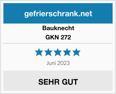 Bauknecht GKN 272  Test