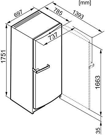 miele fn 12740 s 1 gefrierschrank test 2018. Black Bedroom Furniture Sets. Home Design Ideas